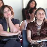 Seremi de Educación Teresa Vallespín Junto a Liliana Cortés